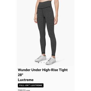 Wunder Under High Rise Luxtreme leggings